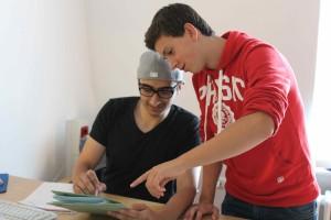 Uzair Hussain und Daniel Michailidis