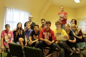 Der Vorstand des Kinder- und Jugendparlamentes Tempelhof-Schöneberg