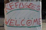 Banner Refugees Welcome