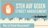 Grafik Steh auf gegen Street Harassment